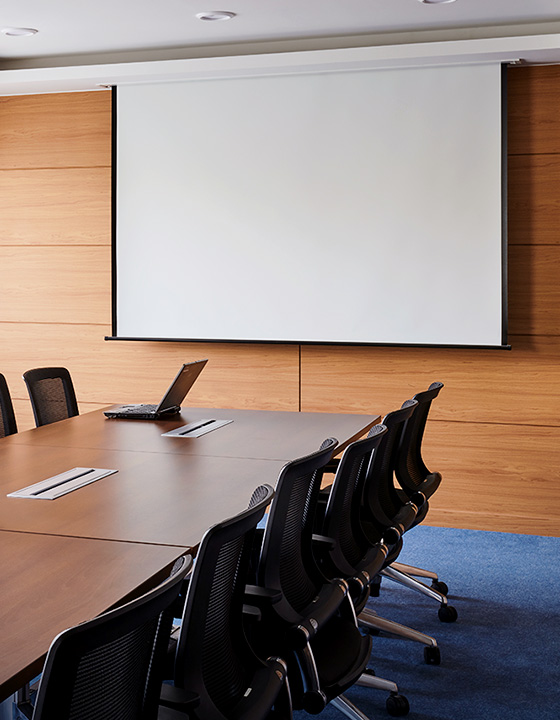 Projector for business presentations